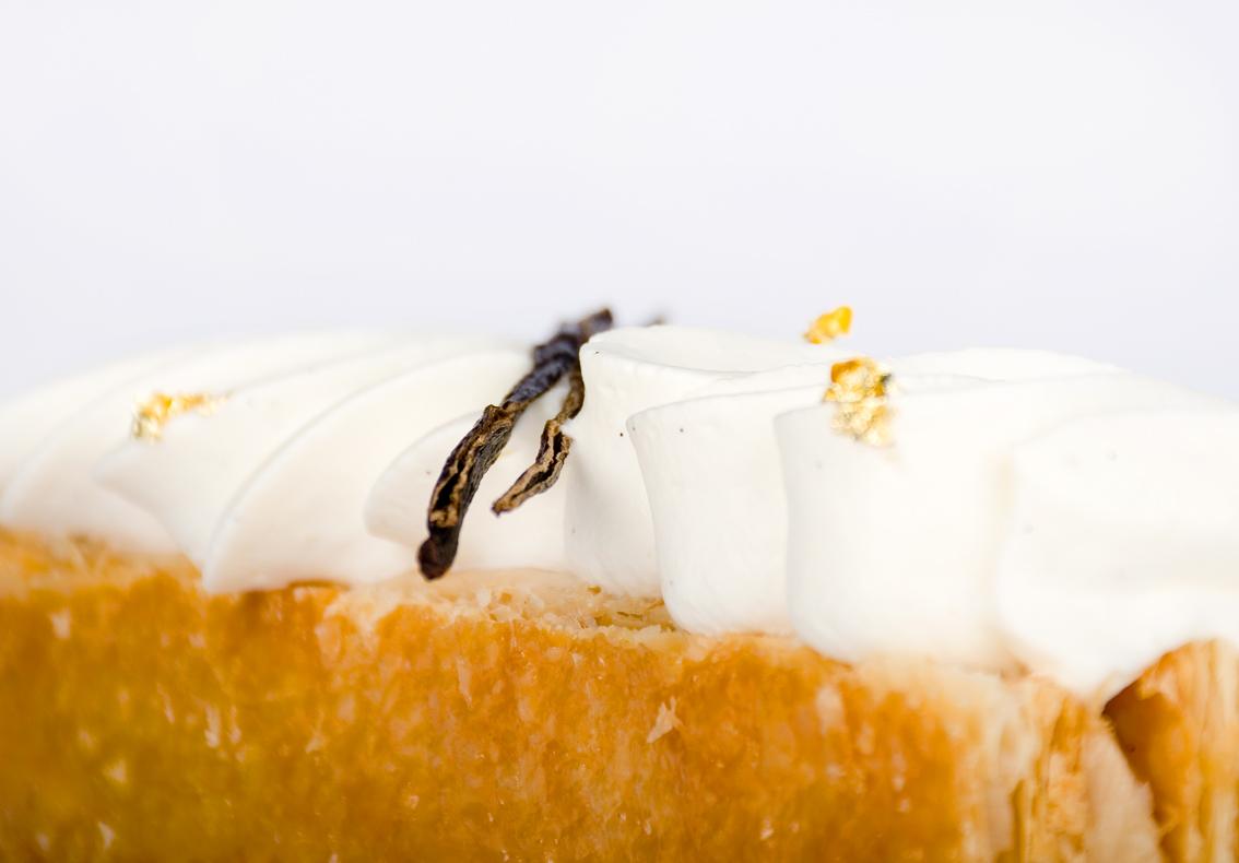 Millefeuille cu vanilie si alune de padure